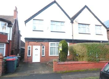 Thumbnail 3 bed semi-detached house to rent in Tewkesbury Drive, Prestwich, Manchester