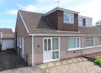 Thumbnail 3 bed semi-detached bungalow for sale in Milton Drive, Cefn Glas, Bridgend.