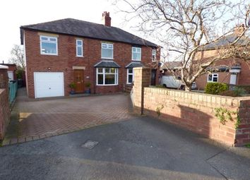 Thumbnail 4 bed semi-detached house for sale in Scotby Road, Scotby, Carlisle