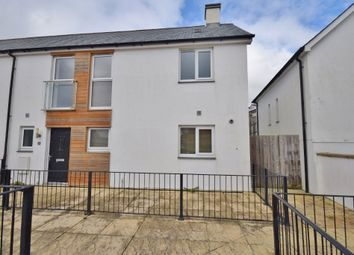 Thumbnail 3 bed end terrace house to rent in Castle Hill Court, Cross Lane, Bodmin