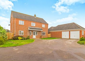 Thumbnail 6 bed detached house for sale in Marshall Howard Close, Cawston, Norwich