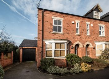 Thumbnail 4 bed end terrace house for sale in Covent Garden Close, Borrowash, Derby