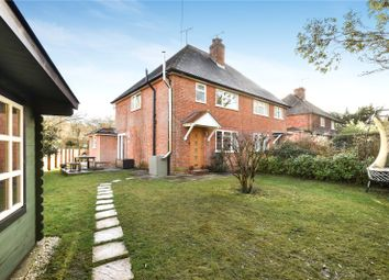 Thumbnail 3 bed semi-detached house for sale in Springmead Cottages, Tilford Road, Churt, Farnham