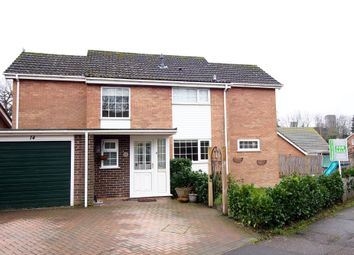 Thumbnail 4 bed detached house for sale in Applegarth, Wymondham