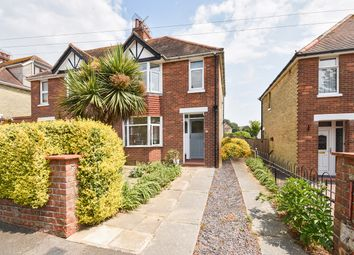 Thumbnail 3 bed semi-detached house for sale in Dolphins Road, Folkestone