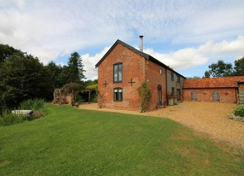 Thumbnail 4 bed barn conversion for sale in Springwood Lane, Woodton, Bungay