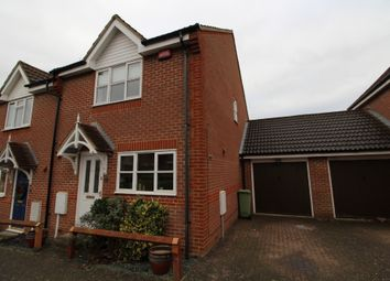 Thumbnail 3 bedroom semi-detached house for sale in Holborn Crescent, Tattenhoe, Milton Keynes, Buckinghamshire