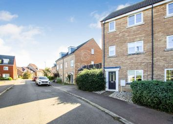 Thumbnail 4 bed end terrace house for sale in Teal Avenue, Soham