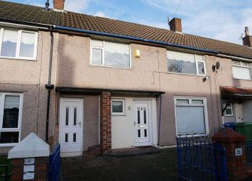 Thumbnail 3 bed terraced house to rent in Cubert Road, Croxteth, Liverpool