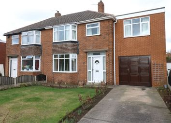 Thumbnail 4 bed semi-detached house for sale in Warde Aldam Crescent, Wickersley, Rotherham, South Yorkshire