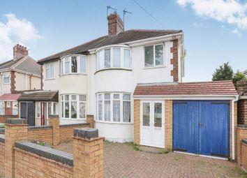 Thumbnail 3 bedroom semi-detached house for sale in Norbury Road, Wolverhampton