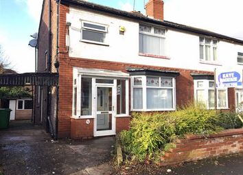 Thumbnail 3 bed semi-detached house for sale in Kempton Road, Burnage, Manchester