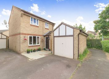 Thumbnail 3 bedroom detached house for sale in Caldbeck Close, Gunthorpe, Peterborough
