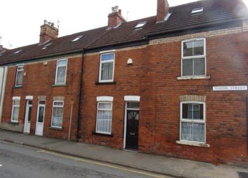Thumbnail 3 bed terraced house to rent in Tower Street, Gainsborough