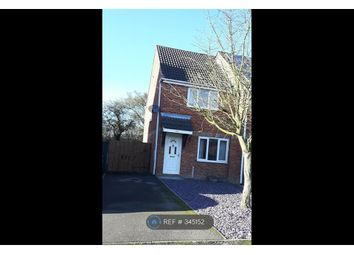 Thumbnail 2 bed end terrace house to rent in Pendleside Way, Derby