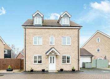 Thumbnail 5 bed detached house for sale in Maidenhair Way, Bury Saint Edmunds, Suffolk