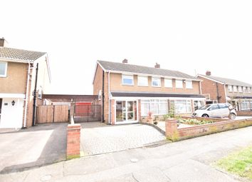 Thumbnail 3 bed semi-detached house for sale in Curlew Crescent, Bedford