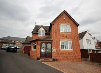 Thumbnail 5 bed detached house for sale in Herongate Road, Leicester