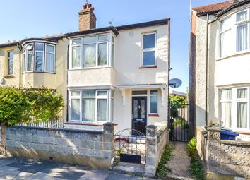 Thumbnail 3 bed terraced house for sale in Montague Avenue, London