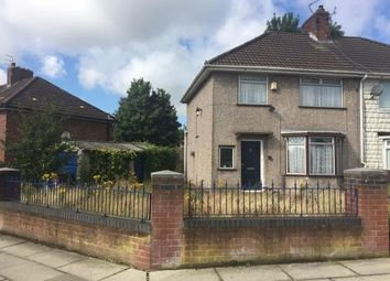 Thumbnail 3 bed semi-detached house for sale in Fairmead Road, Norris Green, Liverpool