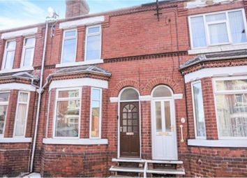 Thumbnail 3 bed terraced house to rent in Salisbury Road, Doncaster