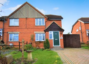Thumbnail 3 bed semi-detached house for sale in Ashmore Green, Thatcham