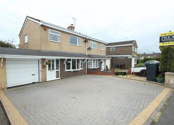 Thumbnail 3 bed semi-detached house for sale in Endon Drive, Brown Lees, Stoke-On-Trent