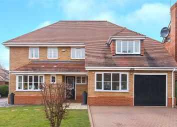 Thumbnail 5 bedroom detached house for sale in Dominic Court, Beaulieu Drive, Waltham Abbey, Essex
