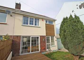 Thumbnail 3 bed semi-detached house for sale in Penlee Road, Stoke, Plymouth