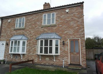 Thumbnail 2 bed semi-detached house to rent in Church View, Ottringham