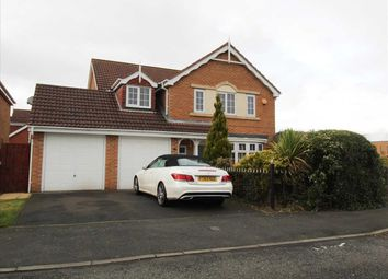Thumbnail 4 bedroom detached house for sale in Longhirst Drive, Southfield Gardens, Cramlington
