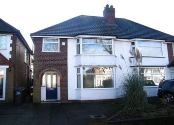 Thumbnail 3 bed semi-detached house to rent in Croft Road, Birmingham