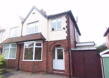 Thumbnail 3 bed semi-detached house to rent in Berry Hill Lane, Mansfield, Nottinghamshire