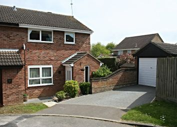 Thumbnail 3 bed semi-detached house for sale in Lackford Close, Brundall