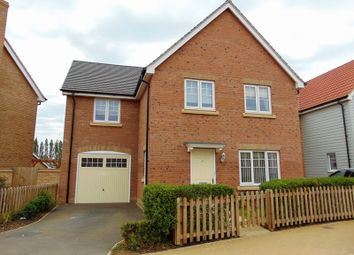 Thumbnail 4 bed detached house for sale in Battle Avenue, Daventry, Monksmoor