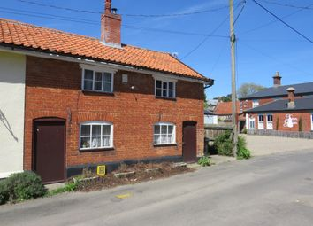 Thumbnail 2 bed end terrace house for sale in Chapel Street, New Buckenham, Norwich