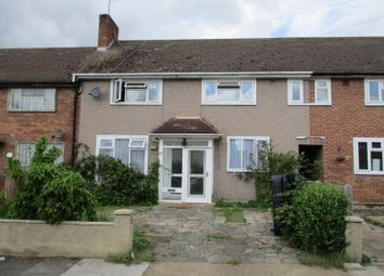 Thumbnail 3 bed terraced house to rent in Erith Crescent, Romford