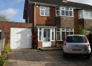 Thumbnail 3 bed semi-detached house for sale in Brownhills Road, Walsall Wood, Walsall, West Midlands
