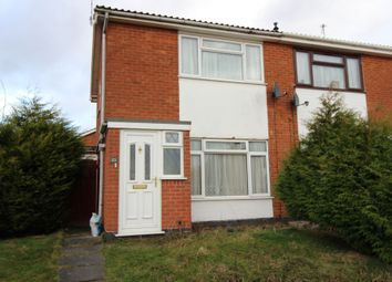 Thumbnail 2 bed semi-detached house to rent in Stour Close, Leicester, Leicestershire