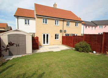3 bed semi-detached house for sale in Buzzard Rise, Stowmarket IP14