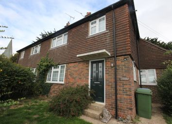 Thumbnail 3 bed semi-detached house to rent in The Street, Patching, Worthing