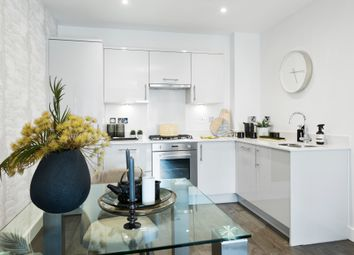 Thumbnail 2 bed flat for sale in 219 Shepperton House, Jubilee Meadows, Felcott Road, Hersham, Surrey