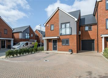 Thumbnail 3 bed link-detached house for sale in Thackeray Drive, Northfleet, Kent