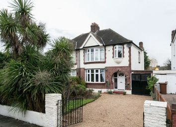 Thumbnail 3 bed semi-detached house for sale in Castle Avenue, London