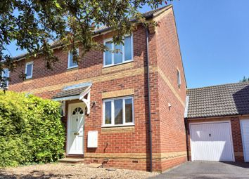 Thumbnail 3 bed semi-detached house for sale in Radley Close, Feltham
