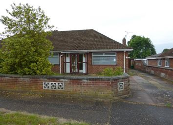 Thumbnail 2 bed semi-detached bungalow for sale in Drayton Wood Road, Hellesdon, Norwich