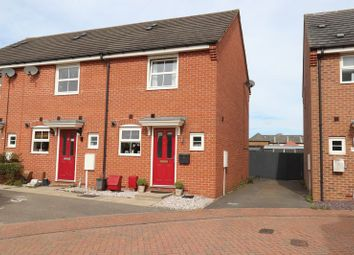 Thumbnail 2 bed semi-detached house for sale in Hillside Gardens, Wittering, Peterborough