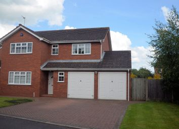 Thumbnail 4 bed detached house for sale in Meadow Gardens, Measham