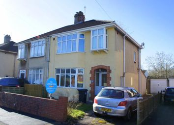 Thumbnail 4 bed semi-detached house to rent in Frome Valley Road, Stapleton, Bristol