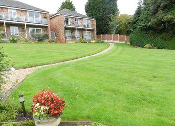 Thumbnail 2 bed flat for sale in Herons Reach Warrington Rd, Glazebury, Warrington, Cheshire